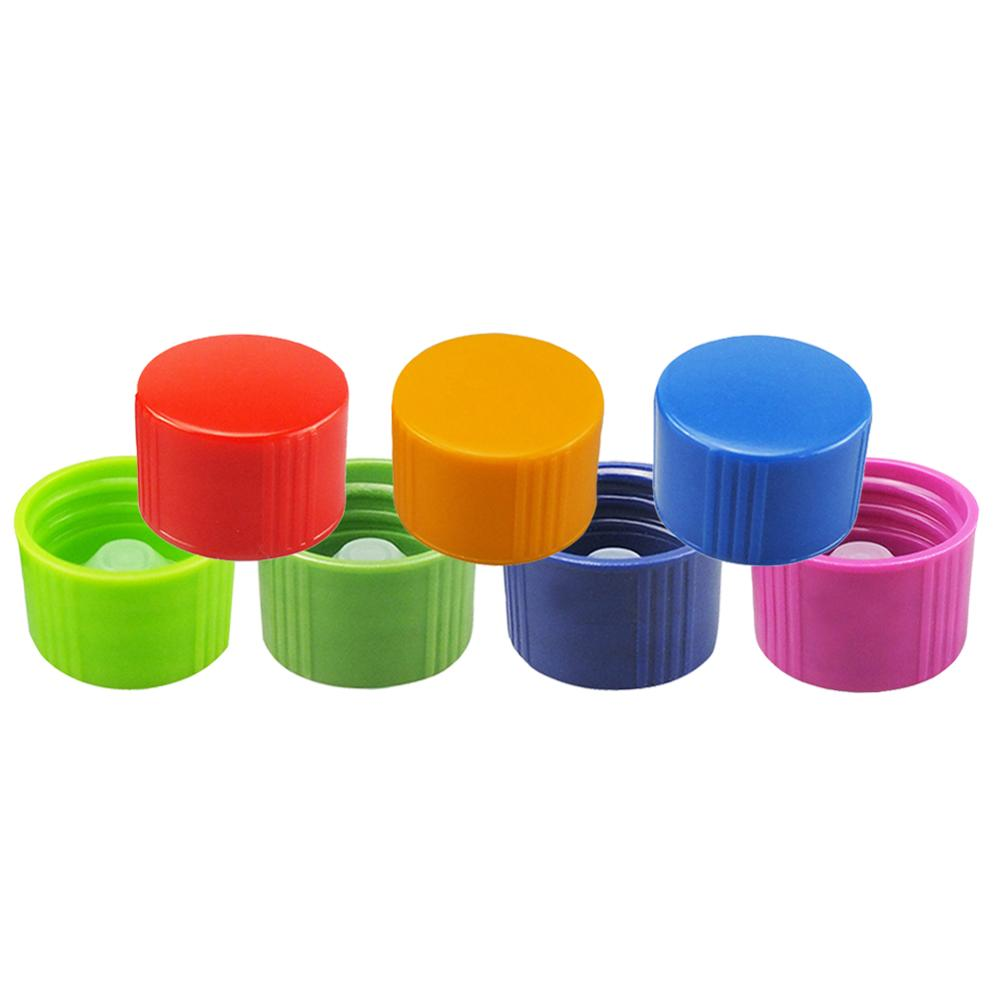 Colorful Mixed Resin Cover V-shaped Inner Plug Sample Bottle Sealing Cap Laboratory Supplies Tools Experimental Consumables