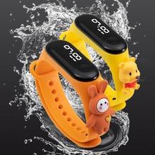 50M Waterproof Children Watches LED Digital Electronic Watch Kids Outdoor Sports Watch for Boys Girls Date Clock Reloj Infantil