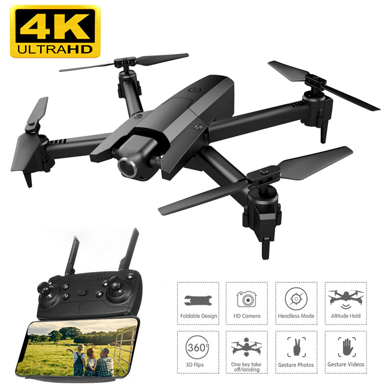 Drone 4K with Camera HD video live RC Helicopter Foldable Drones FPV Quadrocopter Drone X Pro Dron VS Dron E58 E520S Toys image