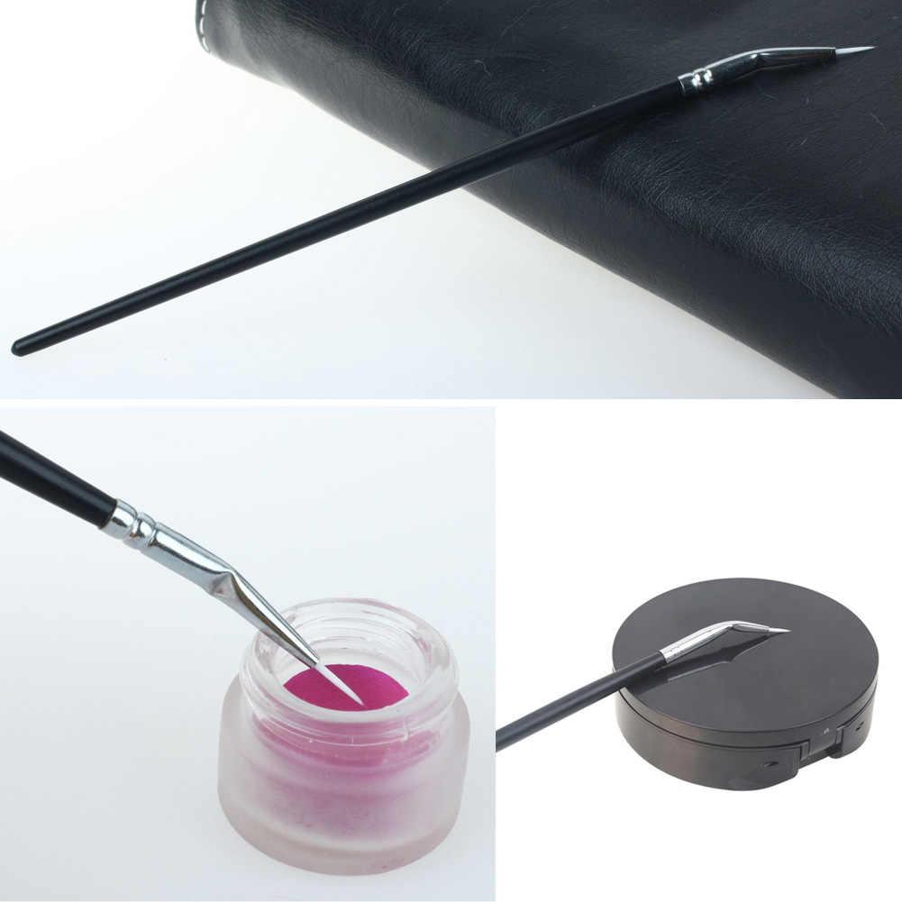 New Style 1pcs Fashion Pro MakeUp Cosmetics Eye Brushes Foundation Cosmetics Tool Angled Eyeliner Brush