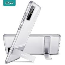 ESR Telefon Fall für Samsung Galaxy S20 Plus S20 Ultra Metall Ständer Vertikale TPU Auto Stehen Abdeckung für S20 Ultra fall Funda