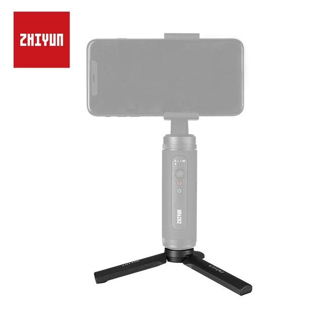 ZHIYUN Mini trípode oficial con tornillo Universal 1/4 para grúa M2, accesorios de cardán, estabilizador Q2 liso de mano
