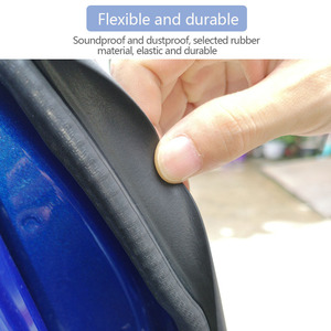 Image 2 - Car Door Seal Strip Rubber Car Door Side Sealing Weatherstrip Auto Waterproof Noise Insulation Sealant Protection Car Accessory