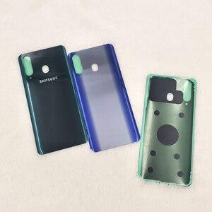 Image 2 - Originele Samsung Galaxy A8s 3Dglass Batterij Back Cover Deur Behuizing Vervanging Reparatie Bescherming Case Voor Samsung A8S SM G8870