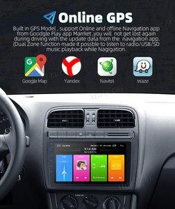 Image 3 - 2din 자동차 라디오 안드로이드 9 유니버설 GPS 네비게이션 블루투스 2.5D 터치 분할 화면 와이파이 자동차 오디오 스테레오 FM USB 자동차 멀티미디어