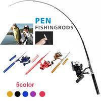 Fishing Rod Pen Fish Rod Angling Tool Carbon 5 Color Fishing Pole|Rod Combo| |  -
