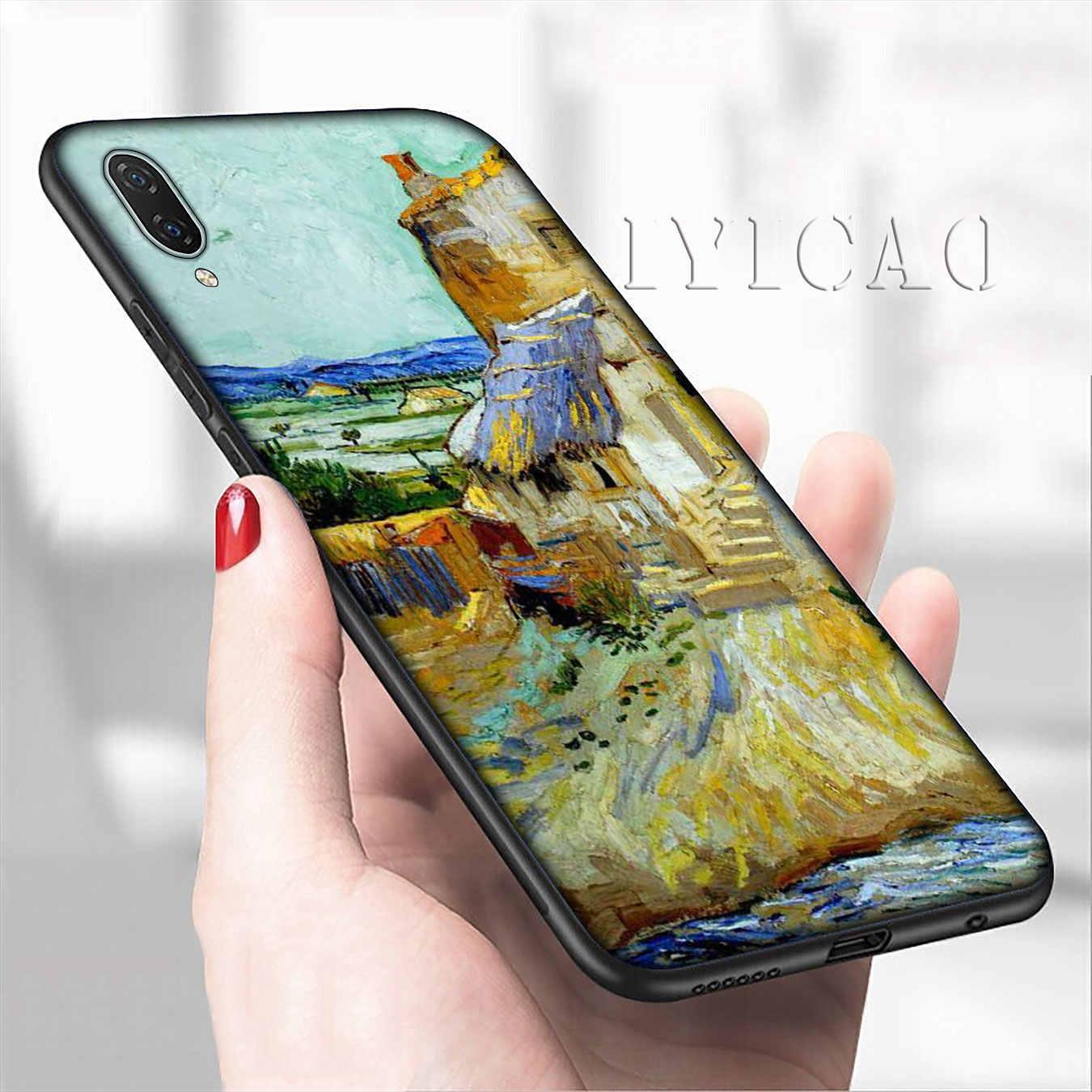 IYICAO ואן גוך אמנות ציור חמוד רך טלפון מקרה עבור שיאו mi mi 9 9T A3 פרו CC9 CC9E 8 A2 לייט A1 6 6X 5X f1 מקסימום 3 mi 9 mi 8