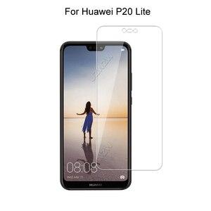 Image 2 - Gehärtetem Glas Für Huawei P20 Lite / P20 Pro / P20 Schutz Glas Screen Protector Gehärtetem Glas Für Huawei P20 lite Pro