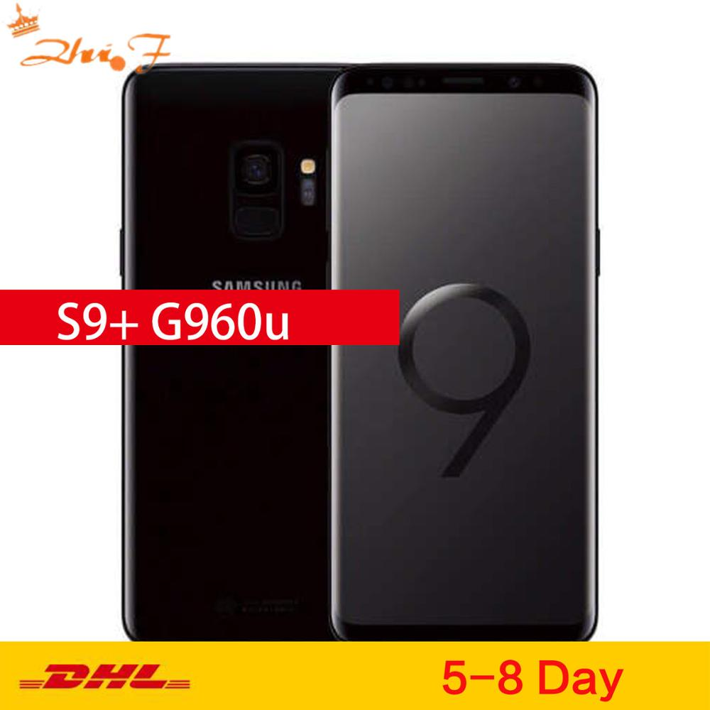 Samsung Galaxy S9 G960U Original Unlocked LTE Android Cell Phone Octa Core 5.8 12MP 4G RAM 64G ROM Snapdragon 845 NFC 3000mAh image