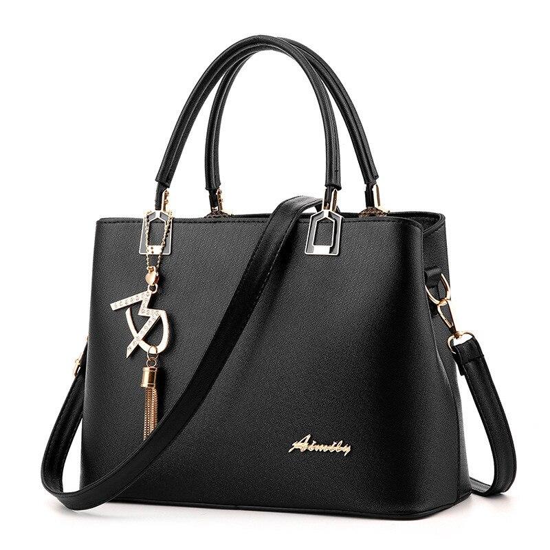 Women Bag Shoulder Handbag Women Vintage Messenger Bags Fashion Luxury Top-Handle Composite Bag Purse Wallet Leather 2
