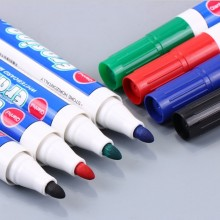 4PCS lot Four color whiteboard marker white board marker Environment Friendly Marker Office School Supplies Black Red Blue Green