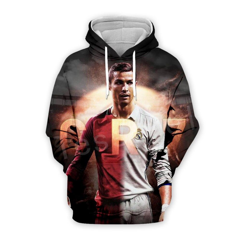 Tessffel Cristiano Ronaldo Athletes Fitness Pullover NewFashion 3DPrint Unisex Zipper/Hoodies/Sweatshirts/Jacket/Mens Womens S16
