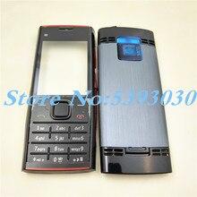 Mới Dành Cho Nokia X2 X2 00 Full Điện Thoại Nhà Ở Cover + Tiếng Anh Bàn Phím + Logo