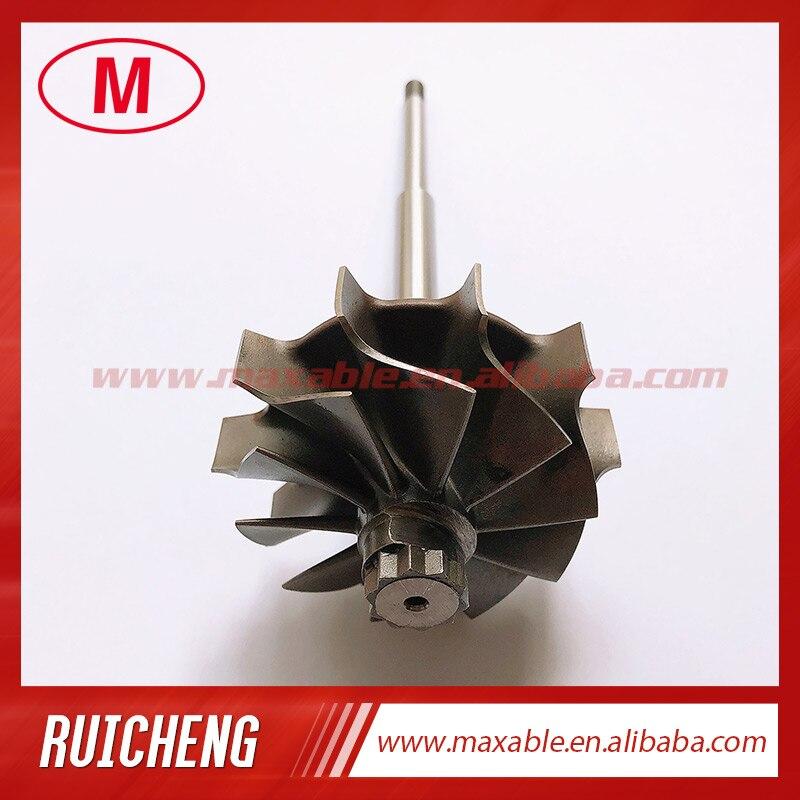 CT26 17201-74080 50,00/59,70 мм 10 лезвий турбинное колесо и вал/турбоколесо для турбокомпрессора