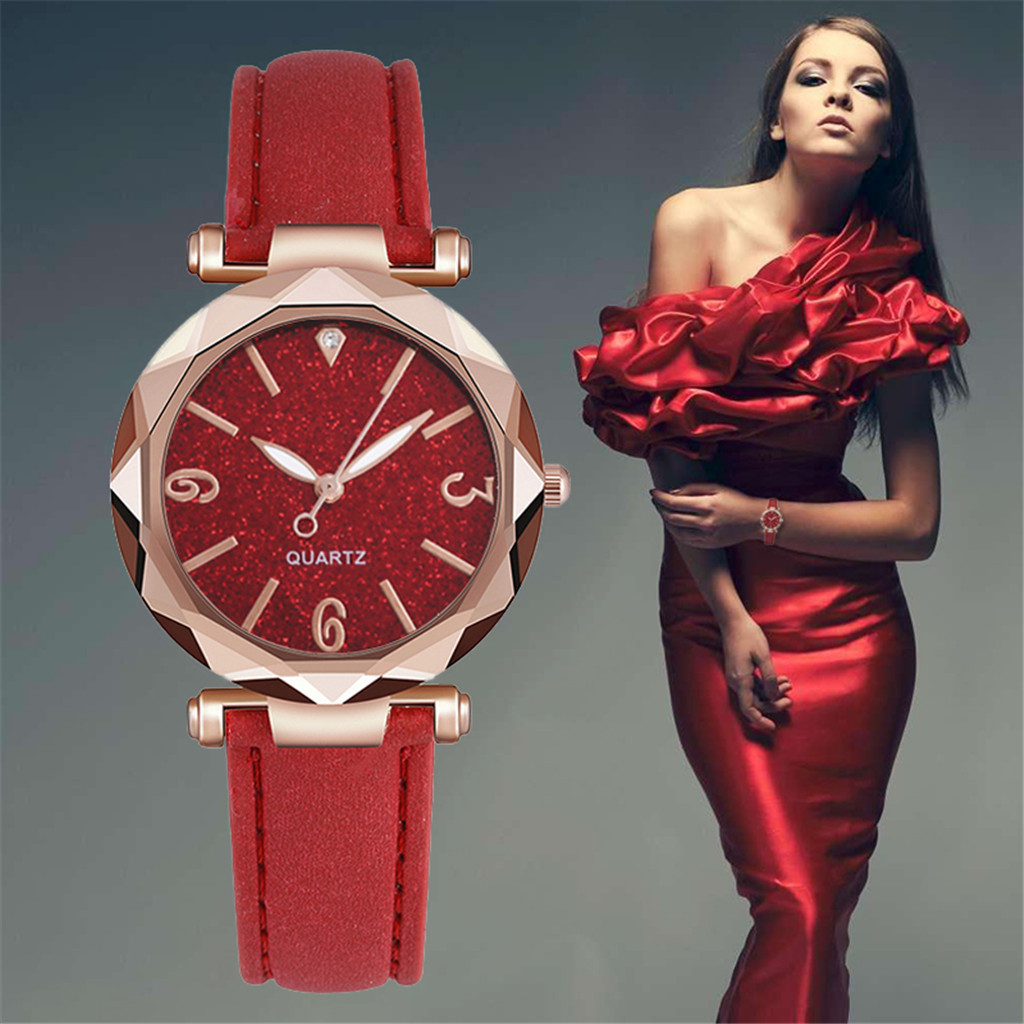 Women Watch Bracele Dial YE1 Female Colorful Luxury New Frosted Rhinestone Delicate title=