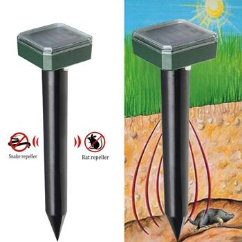 1.2V 600MAH 400-1000(HZ) Ultrasonic Rat Repeller Ultrasonic Mouse Repeller Electronic Insect Animal Gopher Eco Friendly Yard image