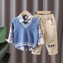 Manboy 2020 детская одежда комплект одежды детской 3 шт (рубашка