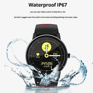 Image 5 - Смарт часы SENBONO S10 pro для мужчин и женщин, умные часы с монитором сердечного ритма, Смарт часы с напоминанием на Facebook, для IOS и Android телефонов, 2020