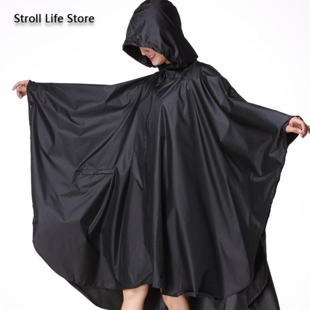 Adult Raincoat Women Long Rain Poncho Lightweight Plus Size Rain Coat Waterproof Windbreaker Jacket Gabardina Mujer Gift Ideas 4