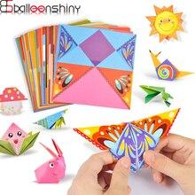 BalleenShiny детские игрушки 3D 54 страницы оригами мультфильм Животные книга игрушка Дети DIY бумажное Искусство Детские Развивающие Игрушки для раннего обучения подарки