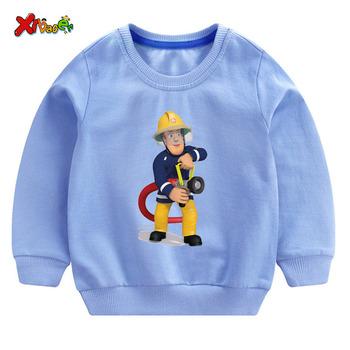 Chłopięca bluza dziecięca bluza z kapturem biała dziecięca ładna bluza 2019 jesienna chłopięca pulower bawełniany maluch zimowe ubrania dla dziewczynki burza tanie i dobre opinie Moda COTTON Pasuje prawda na wymiar weź swój normalny rozmiar Unisex Cartoon Pełna REGULAR