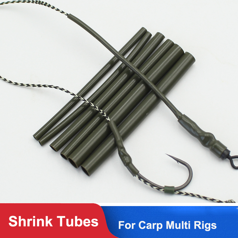 30PCS Carp Fishing Accessories Anti Tangle Sleeves Line Aligner Tube for Carp Fishing Rig Hair Ronnie Rig Terminal Tackle