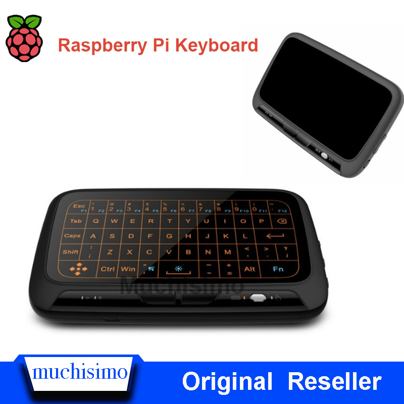 Raspberry Pi Keyboard Drive-Free Keyboard Plug And Play Computer Touchpad Mouse Gesture Full Screen Touch For Raspberry Pi 4B 3B