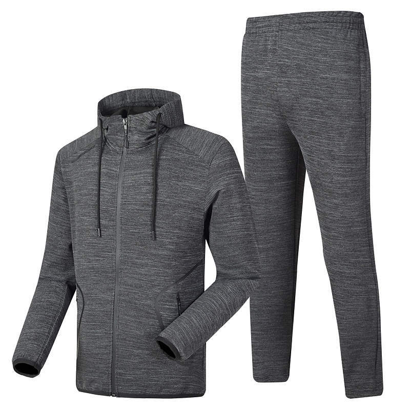 A Generation Of Fat Manufacturers Direct Selling Hooded Simple Fashion Men Sports Hoodie Suit Jogging Suits Leisure Sports Suit