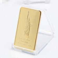 Coin-Collection Token Liberty-Crafts Bullion-Bar Commemorative USA American of Eagle-Statue
