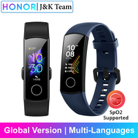 Honor band 5 Globale Version smartband AMOLED Huawei smartwatch herz wut ftness schlaf tracker schwimmen sport trakcer gps