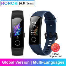 Honor band 5 versión Global smartband AMOLED Huawei smartwatch corazón ira ftness dormir rastreador nadar deporte trakcer gps
