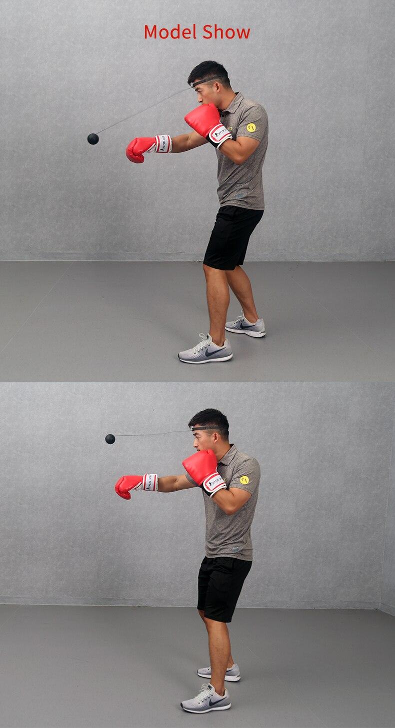 GGPOWER Pelotas de Reflejo Boxing Ball Reflex Bola de Entrenamiento MMA Boxing Speed Focus reacci/ón Ocular r/ápida