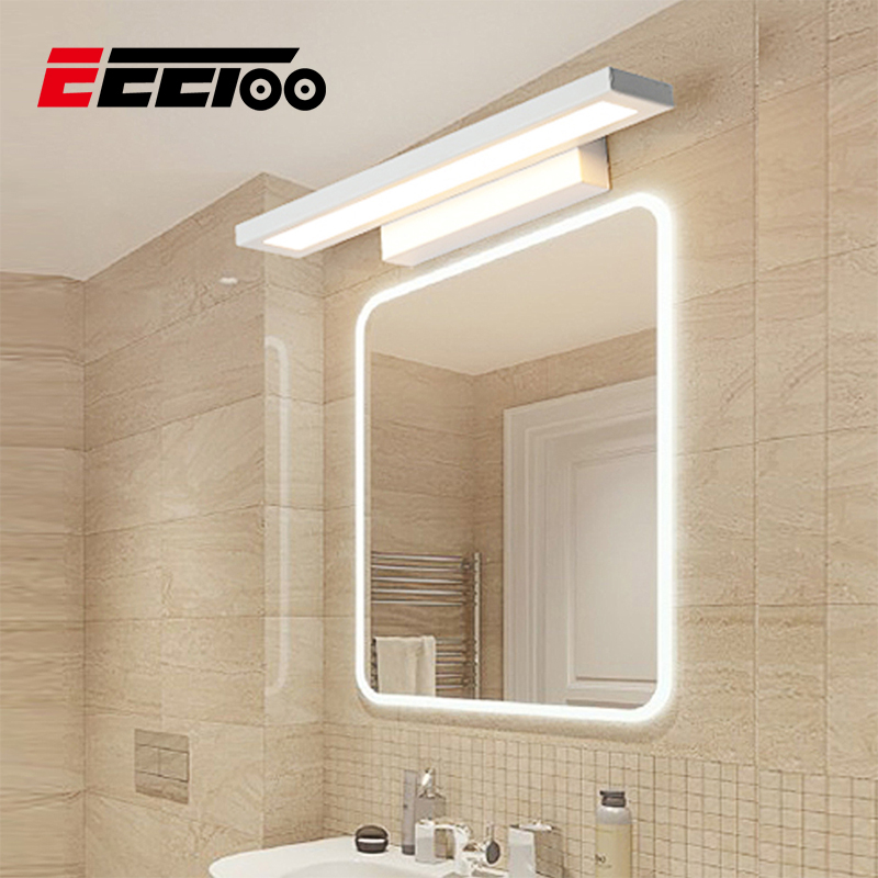 LED Bathroom Mirror Light Wall for Makeup Vanity Lights Washroom Bathroom Vanity Lighting Fixture 220V Cabinet Light Luz Espejo