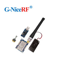 2PCS SA828 1W di Potenza in Uscita Audio Trasmettitore RF E Modulo Ricevitore 134 174MHz 30dBm Walkie Talkie modulo