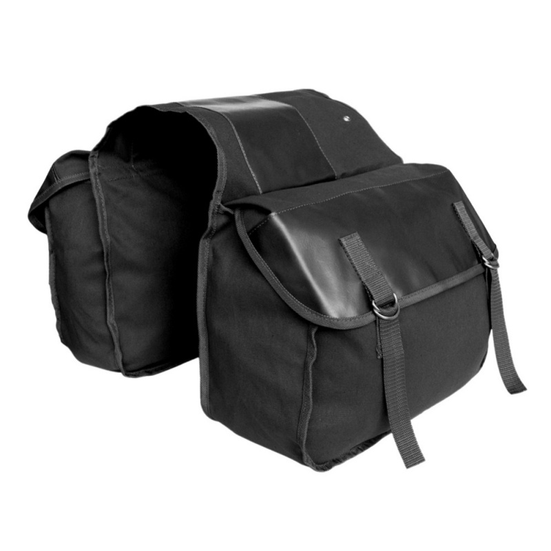 Cycling Bicycle <font><b>Bags</b></font> Mountain Road <font><b>Bike</b></font> Trunk Waterproof Double Side Rear Rack Pouch Wear-resistant Tail Seat Pannier Pack image