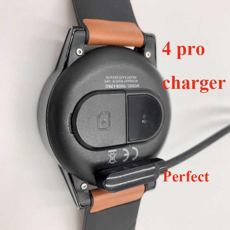 Chargeur pour Zeblaze thor 4 pro montre intelligente câble de charge magnétique USB câble de charge pour 4pro smartwatch plus souple original Zeblaze Thor 4 PRO montre intelligente Android 1 GB + 16 GB 600 mah 4G résea