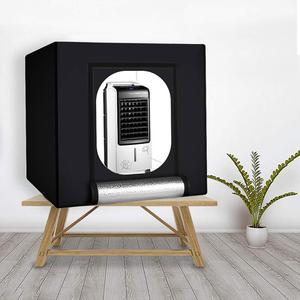Image 5 - WINGRIDY 40cm * 40cm 16in LED 접는 사진 스튜디오 Softbox 라이트 박스 라이트 텐트 화이트 옐로우 블랙 배경 액세서리 박스 라이트