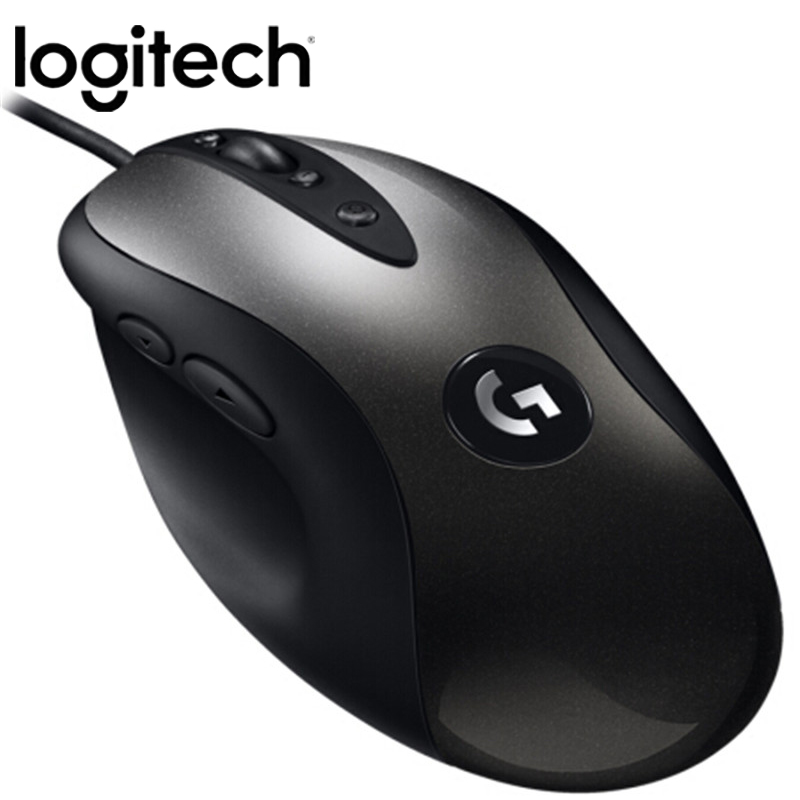 Original Logitech MX518 LEGENDARY Classic Gaming Mouse 16000DPI Programming Mouse Upgraded From MX500/510 For CSGO LOL OW PUGB image