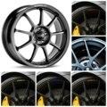 Изогнутые наклейки на обод колеса автомобиля для x8 FORD ST, фокус, Mondeo, Fiesta, Fusion, Mustang, Taurus, Escape
