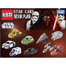 TarakaTakara Tomy Simulation Alloy Car Model Children's Car Toy Star Wars White Soldier Black Warrior Car Children Gift