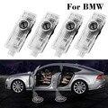 4 шт., светодиодсветильник лампы с логотипом автомобиля BMW X5 E70 E60 E90 F10 F20 X1 X3 E92 E87 3 5 7