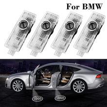 4 Uds Led Bienvenido logotipo coche fantasma puerta lámpara Proyector láser Luces para BMW X5 E70 E60 E90 F10 F20 X1 X3 E92 E87 3 5 7 Serie