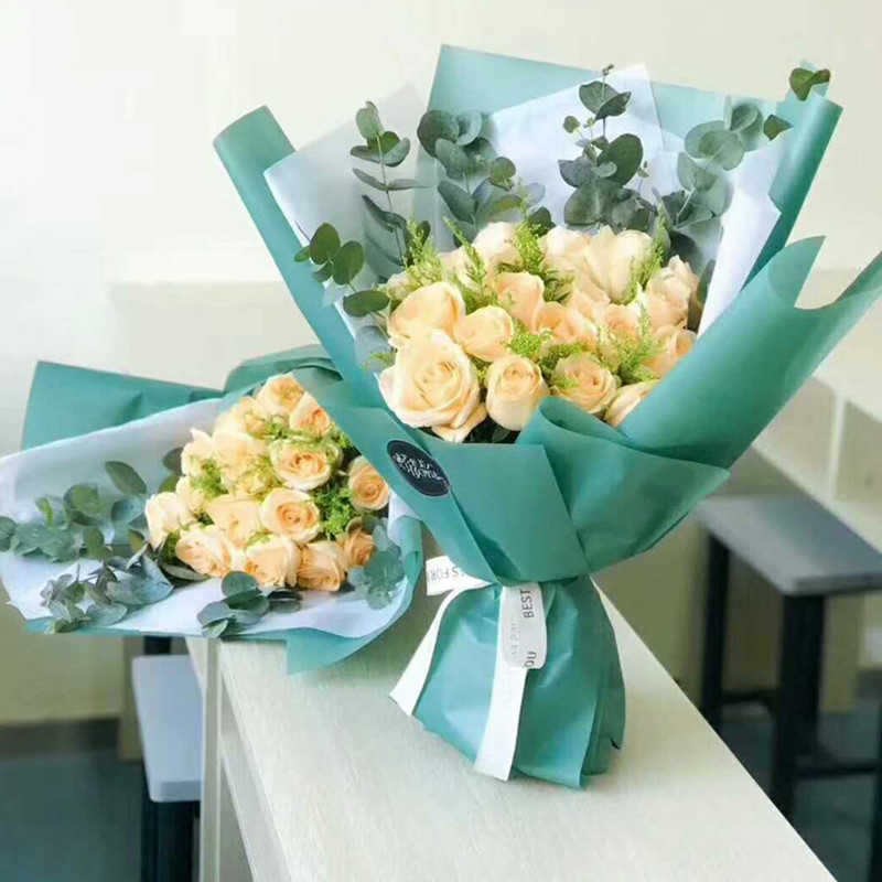 Craft Flower Making Scrapbooking Bouquet Wrapping Translucent Waterproof Paper