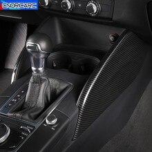 Điều Khiển Trung Tâm Mặt Bảng Trang Trí Bao Viền Sợi Carbon Màu Sắc Dải Cho Xe Audi A3 8V 2014 2019 LHD nội Thất Đúc Đề Can