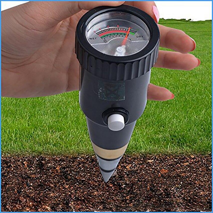 Soil pH and Moisture Meter Soil PH Meter Tester Hygrometer Portable Soil Moisture Sensor Monitor 3.5 8PH for Gardens Care|PH Meters| - AliExpress
