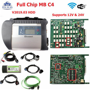 Diagnostic Tool MB Star SD C4 Full Chip Multi-Languages with newest software V2020.3 For CAR TRUCK MB SD Connect MB Star C4 HDD(China)