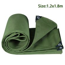Tent Outdoor Heavy-Duty SHELTER Awning-Accessories Cover Canvas Tarp Dustproof Hanging