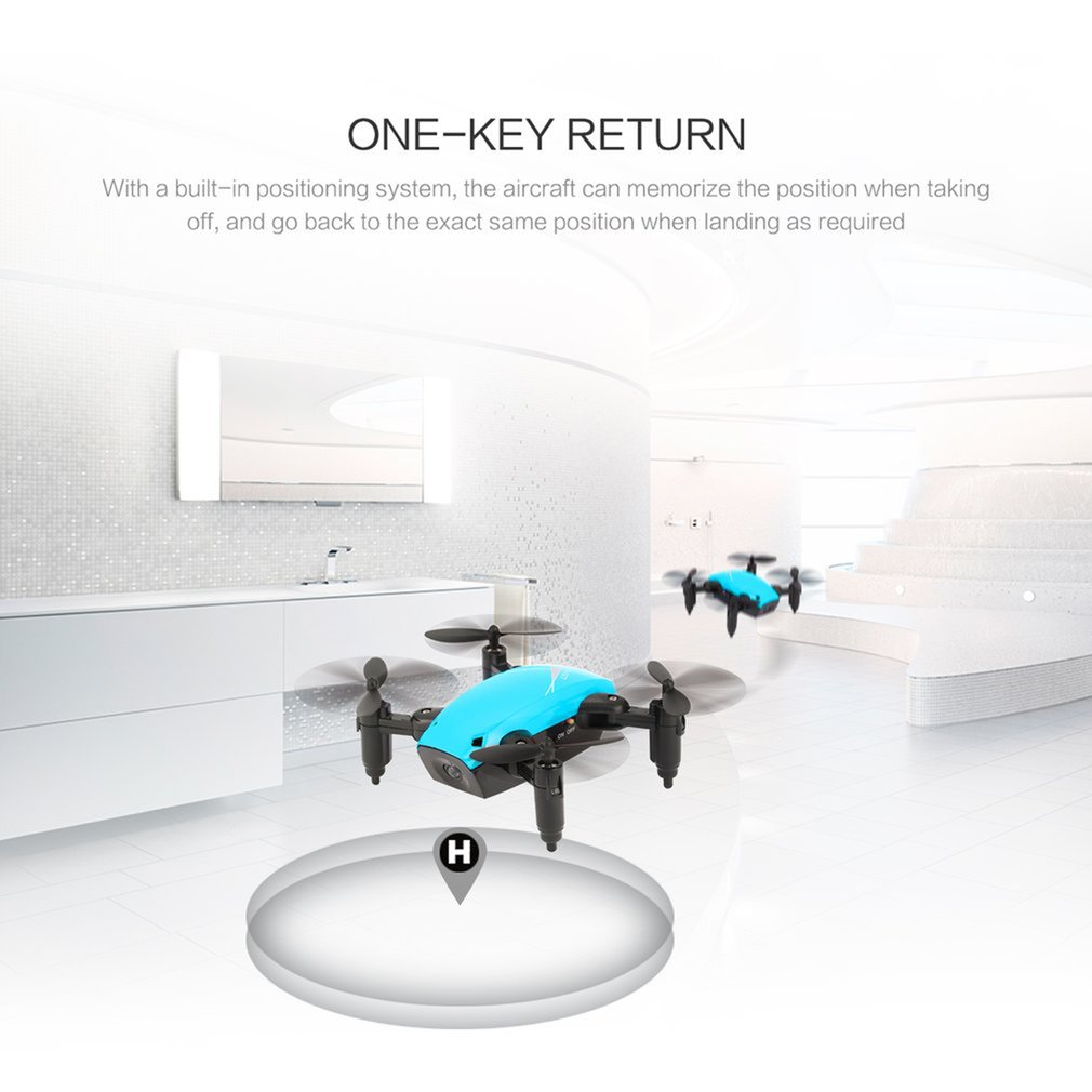 lowest price S9 S9W Foldable RC Mini Drone Pocket Drone Micro Drone RC Helicopter With HD Camera Altitude Hold Wifi FPV FSWB Pocket Drone