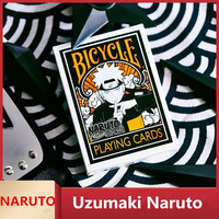 New Anime NARUTO Uzumaki Naruto Cosplay Props Orochimaru Poker Card 54pcs/Set Child Adult Paper Playing Card Gifts Collection