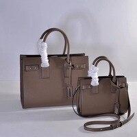 Commuting File Holder WOMEN'S Leather Bags Shoulder Bag Handbag